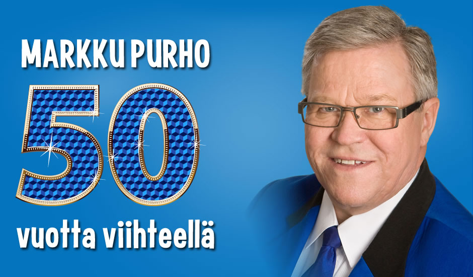 Taikuri Markku Purho -viihteellä viisi vuosikymmentä